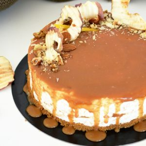 cheesecake mar si caramel sarat